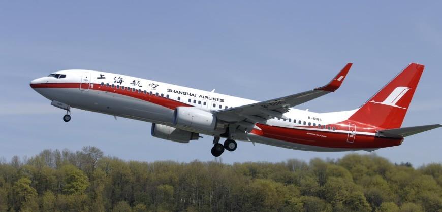 Shanghai ILFC  YD497 2230 (SHA) 737-800 Take off