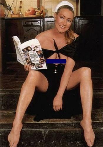 Marine Le Pen  nackt