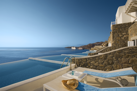 A Greek Pool Among The Best Infinity Pools In World