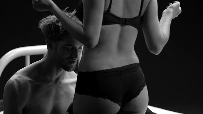 watching wife undress