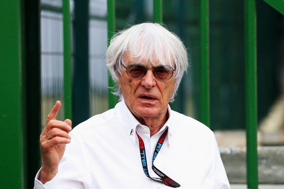 Bernie Ecclestone, British business magnate. He is the president and CEO of Formula One Management and Formula One Administration