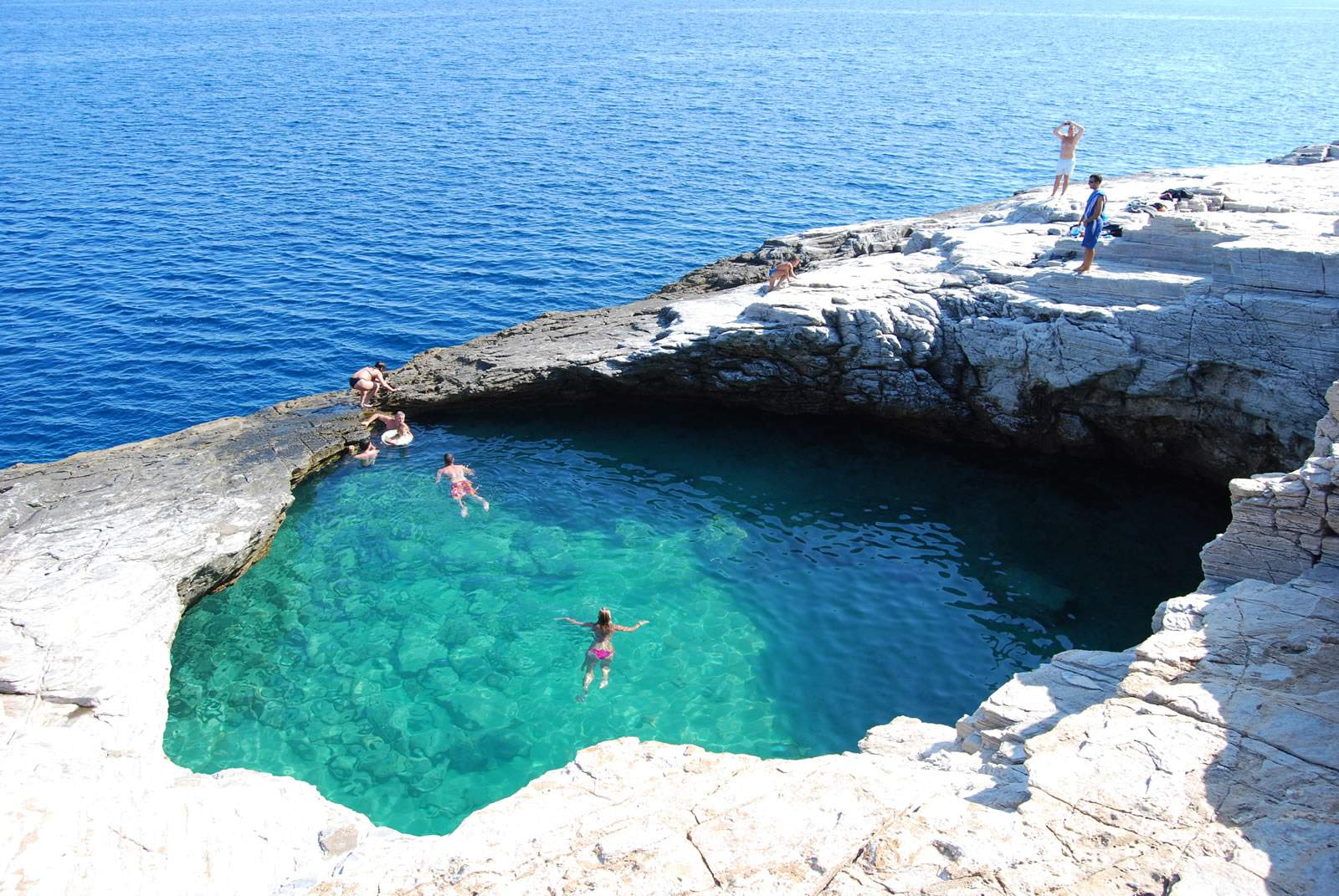 Giola is among the best natural swimming pools in the for Sustainable swimming pools