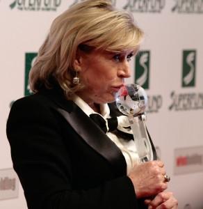 Marianne Faithfull at the Women's World Awards 2009 in Vienna, Austria