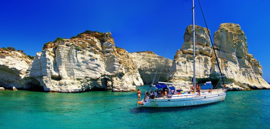Greek Island Hopping Sailing For Large Group
