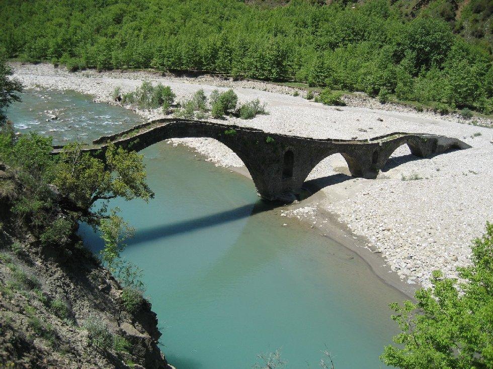 Γεφύρι Παπαστάθη - Ανατολική Ιωαννίνων