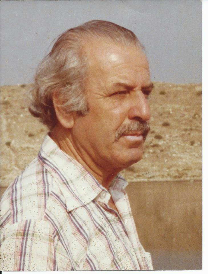 Archaeologist Dimitris Lazaridis worked on the hill in 1964