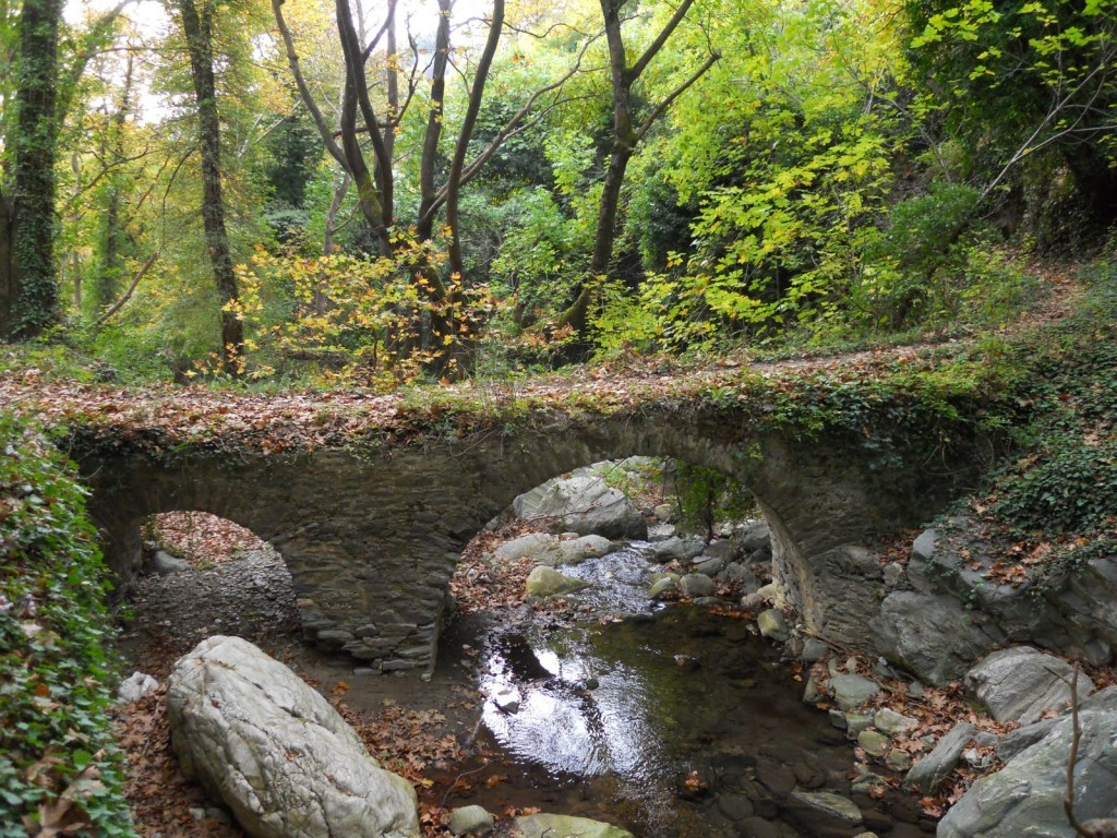 Kappa Bridge is just one of the places that the Friends of the Kalderimia hike to