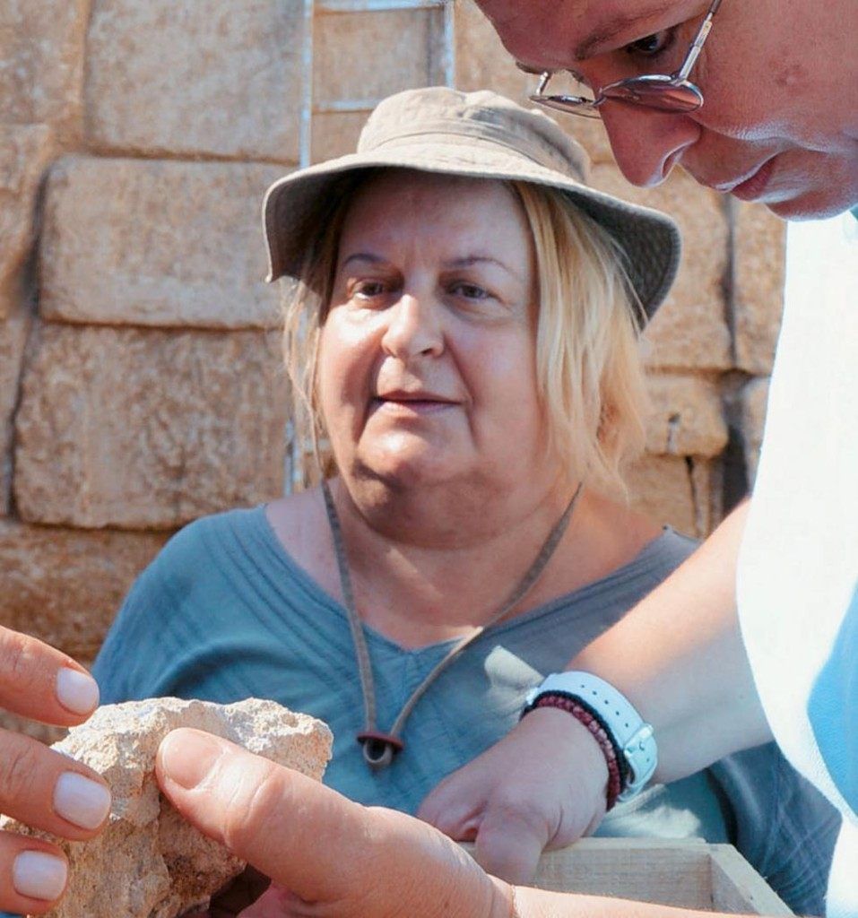 The lead archaeologist at the site