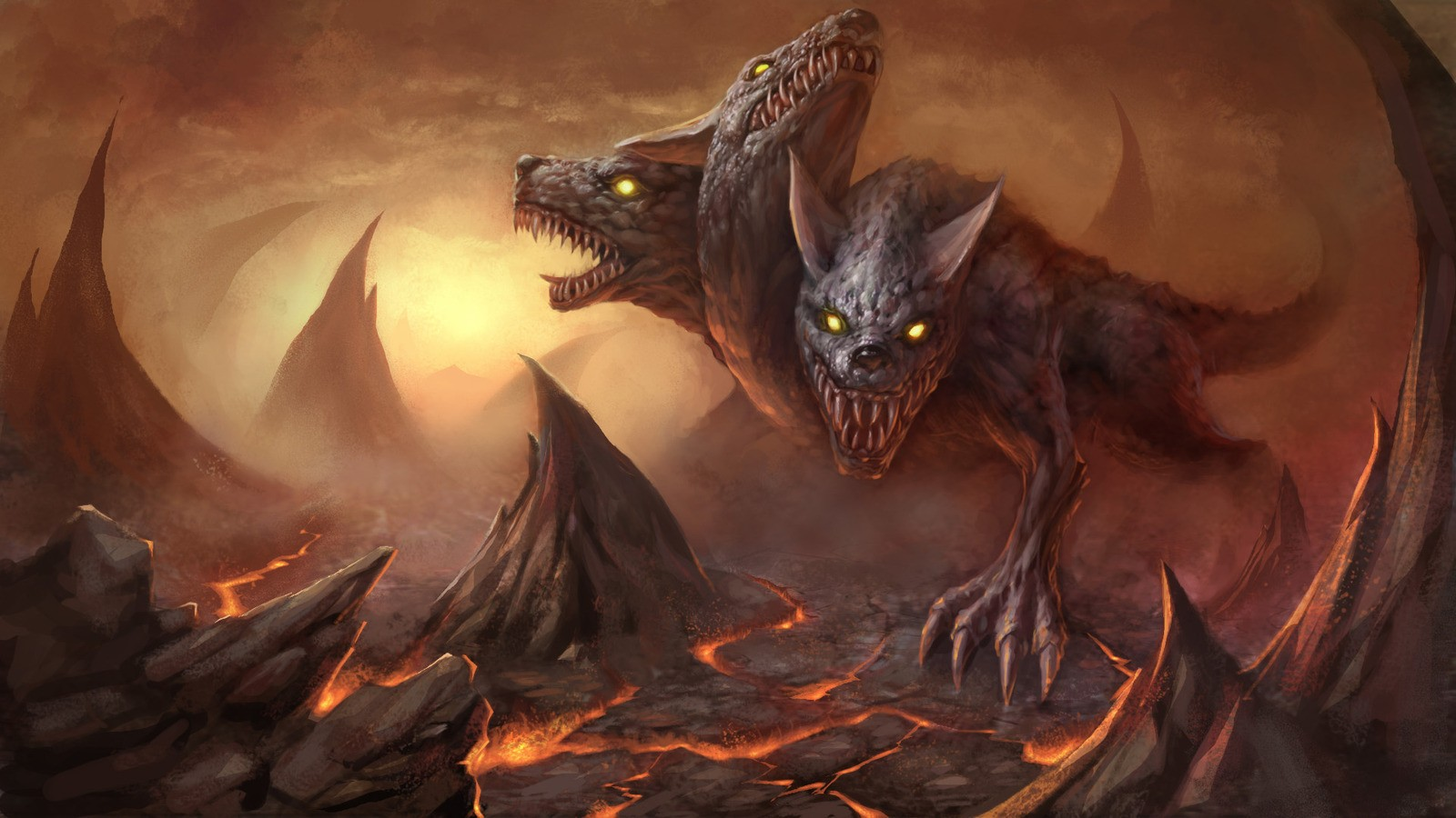 greek mythology and cerberus Facts about cerberus tell you about the monstrous multi-headed dogs cerberus is very famous in greek mythology the dead cannot leave the underworld for cerberus.