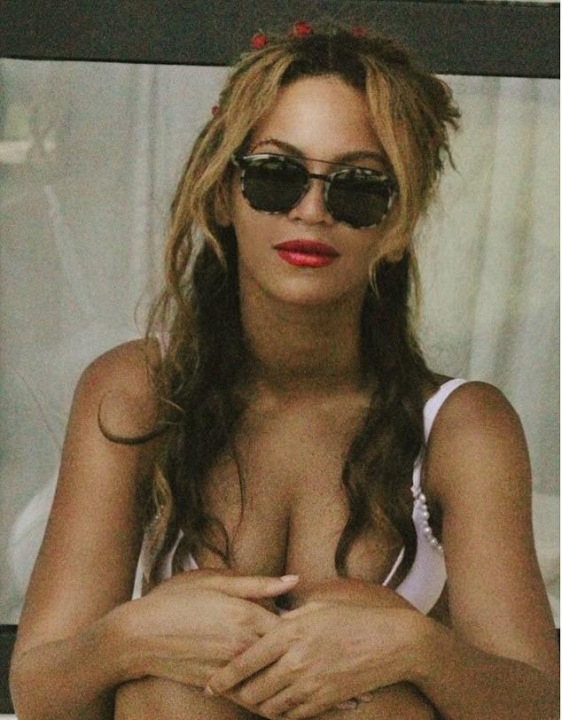 Beyonce Wears Sheer Dress, Nude Bodysuit In Sizzling New