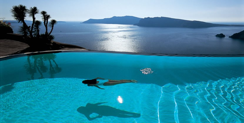 Three greek hotels among 25 best in europe - Infinity pool europe ...