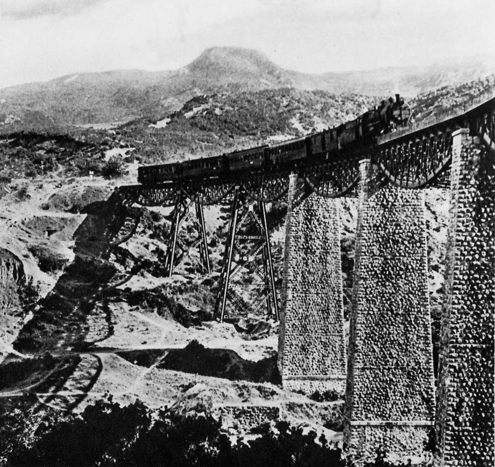 Gorgopotamos Bridge before WWII