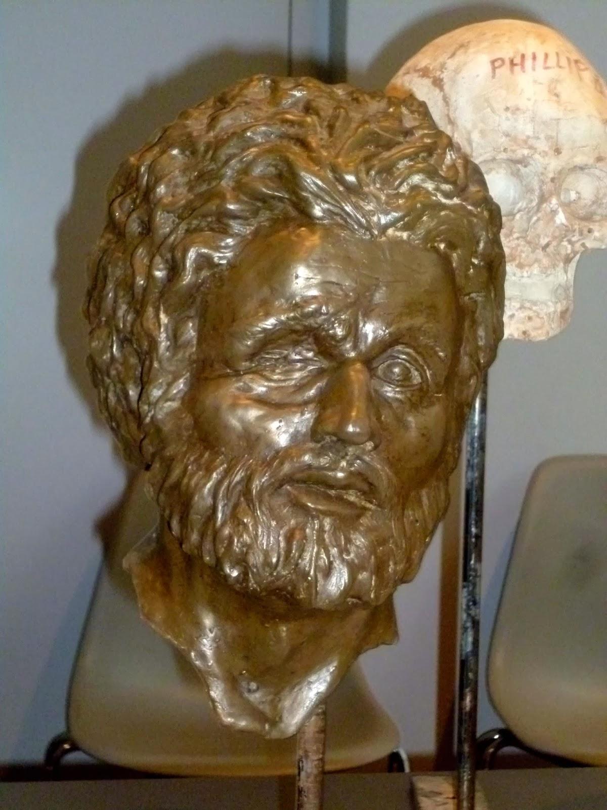Philip II's face