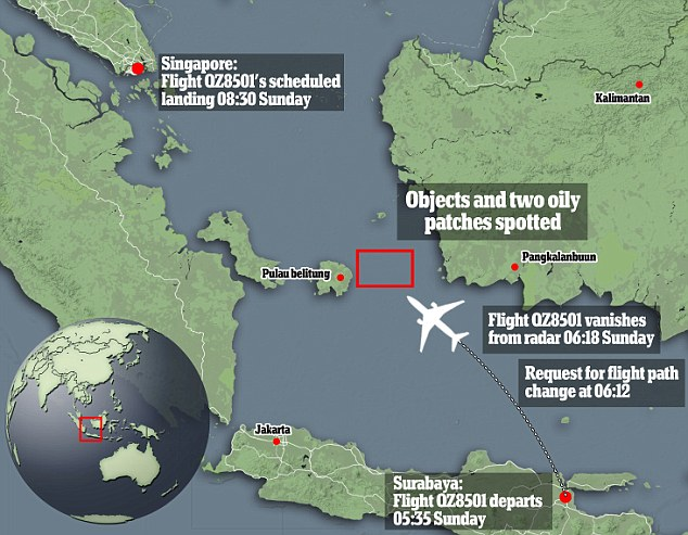 Missing AirAsia Flight 8501: Finding debris and bodies in the water ...