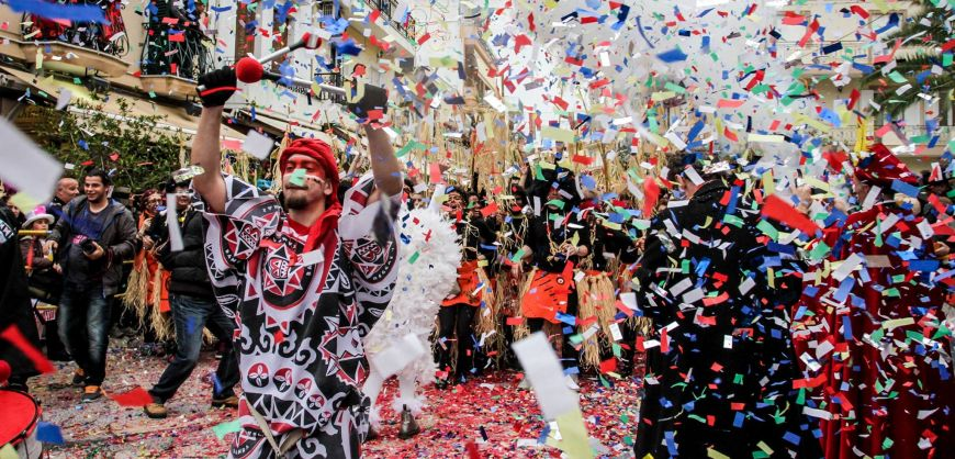 Carnival Spirit Culminates Around Greece This Week