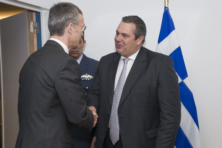 Bilateral meeting with Greece - Meeting of NATO Defence Ministers