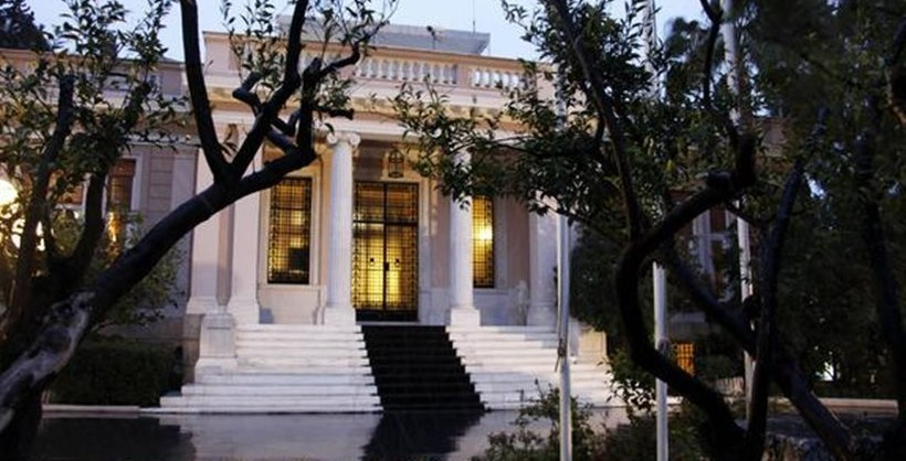 maximos mansion  today greece has turned over a new leaf