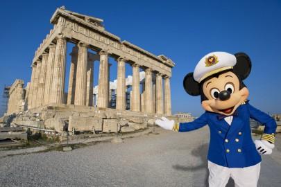 Mickey in Greece