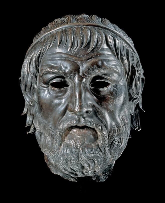 Portrait of a poet (Aruendel head)