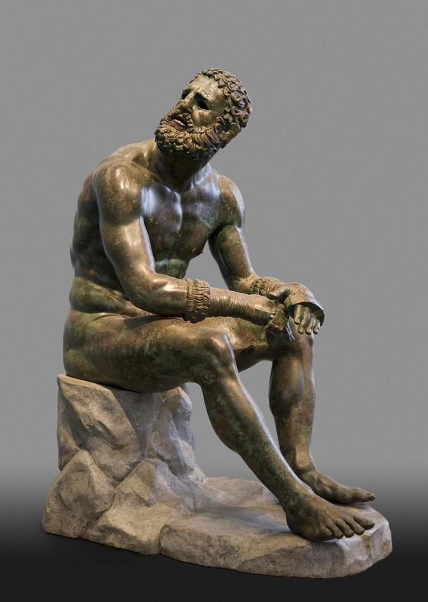 'Terme Boxer,' third century B.C., Rome, Museo Nazionale Romano di Palazzo
