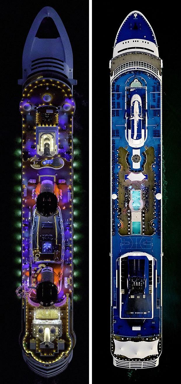 World S Swankiest Cruise Ships
