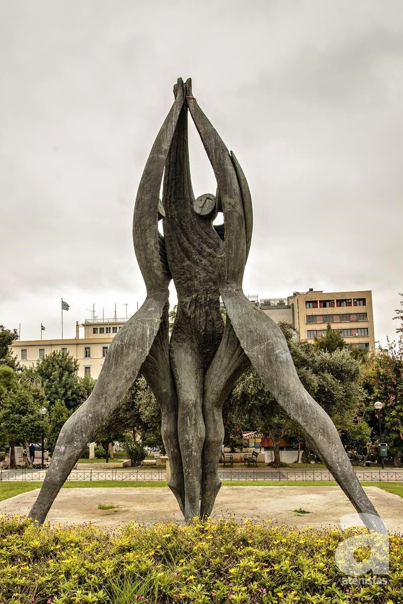 Your Guide To Athens Urban Sculptures Photos Protothemanews Com