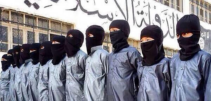 ISIS, the next generation (Warning: Graphic training video