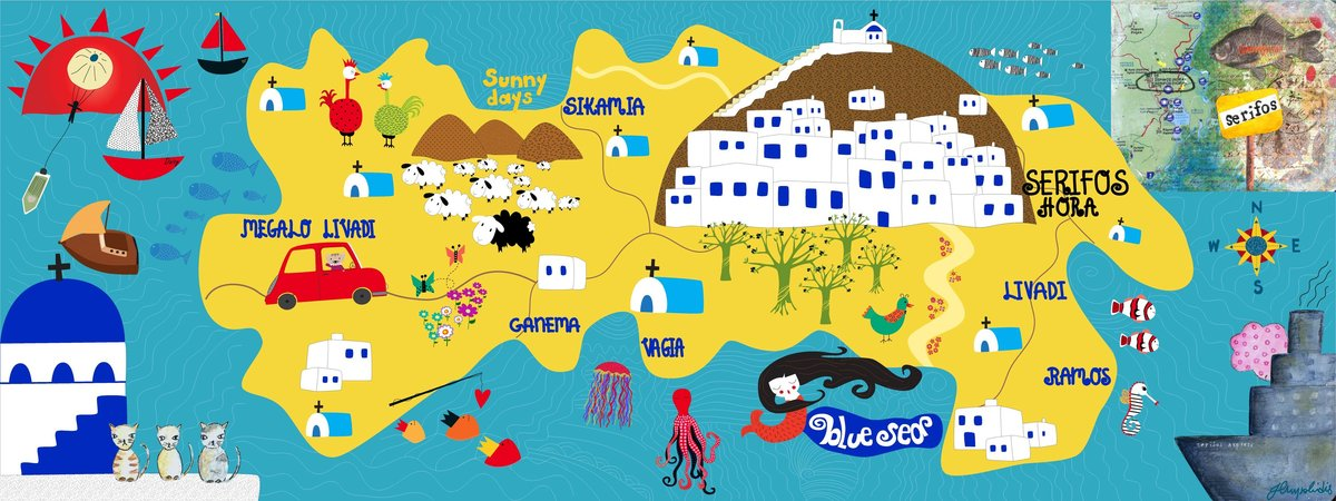 They Draw Travel with a special focus on Greece see maps
