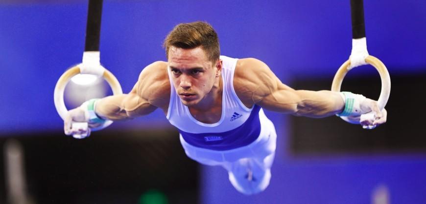 Greek gymnast Eleftherios Petrounias wins gold at European ...