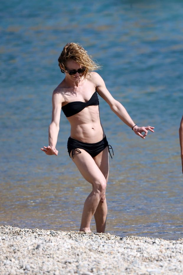 French singer Vanessa Paradis enjoys holiday in Greece No credit Greece,july 13 th 2015Ref: SPL1077927  130715  Picture by: Splash NewsSplash News and PicturesLos Angeles:310-821-2666New York:212-619