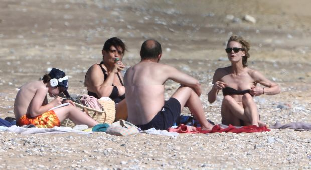 French singer Vanessa Paradis enjoys holiday in Greece No credit Greece,july 13 th 2015Ref: SPL1077927  130715  Picture by: Splash NewsSplash News and PicturesLos Angeles: 310-821-2666New York:212-619