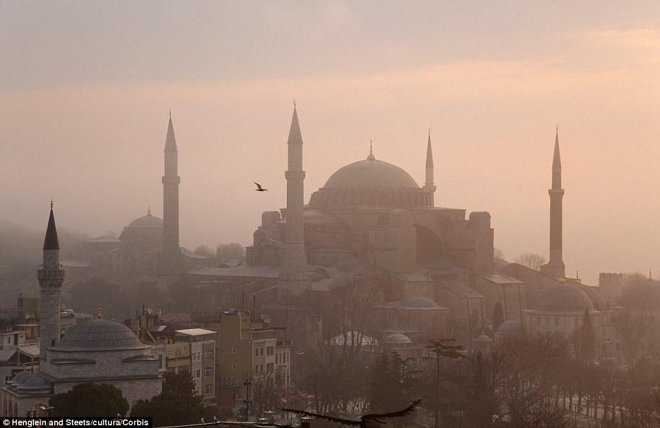 10. Aya Sofya, Turkey