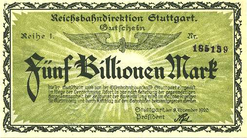 The Germans Use A Parallel Currency Pics Vid