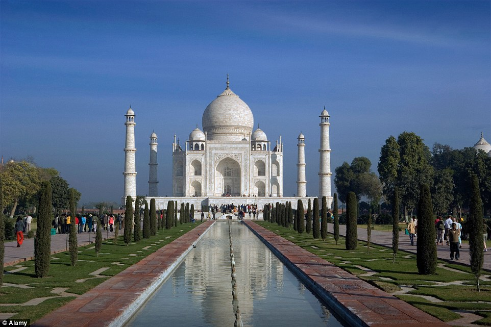 5. Taj Mahal, India