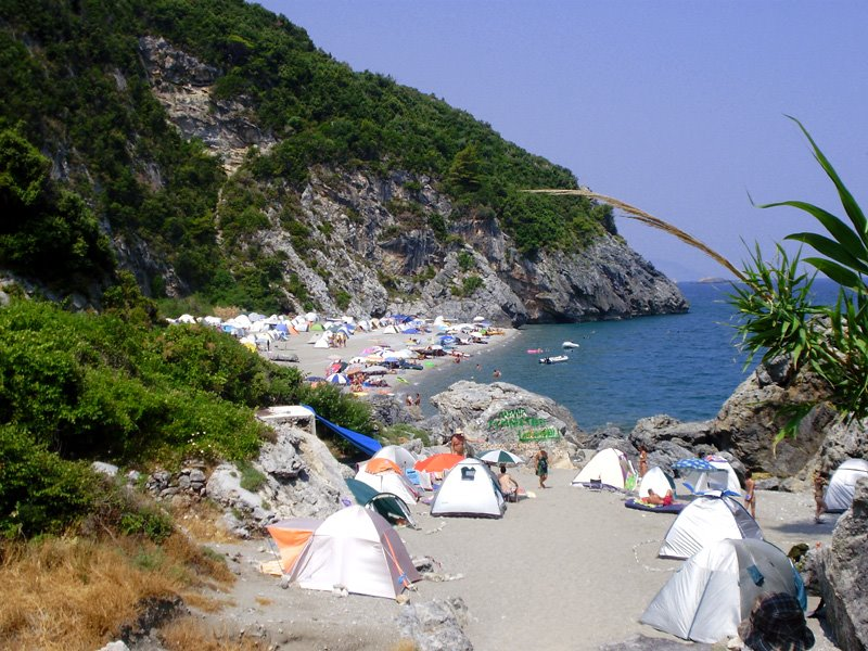 Ditch the luxury resort for a free camping spot of