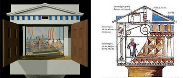 Exhibition amazing ancient greek technological inventions for Good greek moving and storage