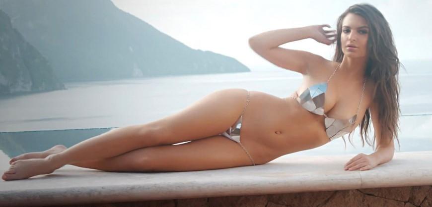 sexy naked girl halter top gif