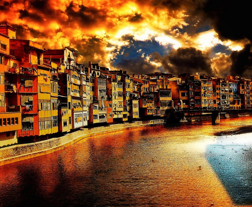 Girona-waterfront