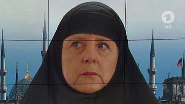 The many faces of Angela Merkel: the fun just never ends ...
