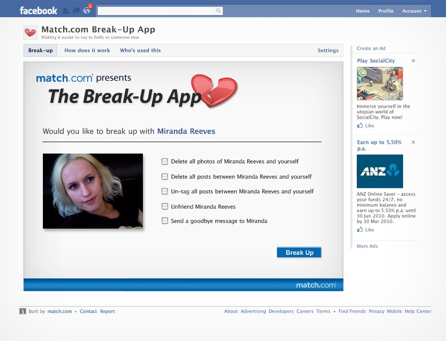 how to take a break from facebook on app