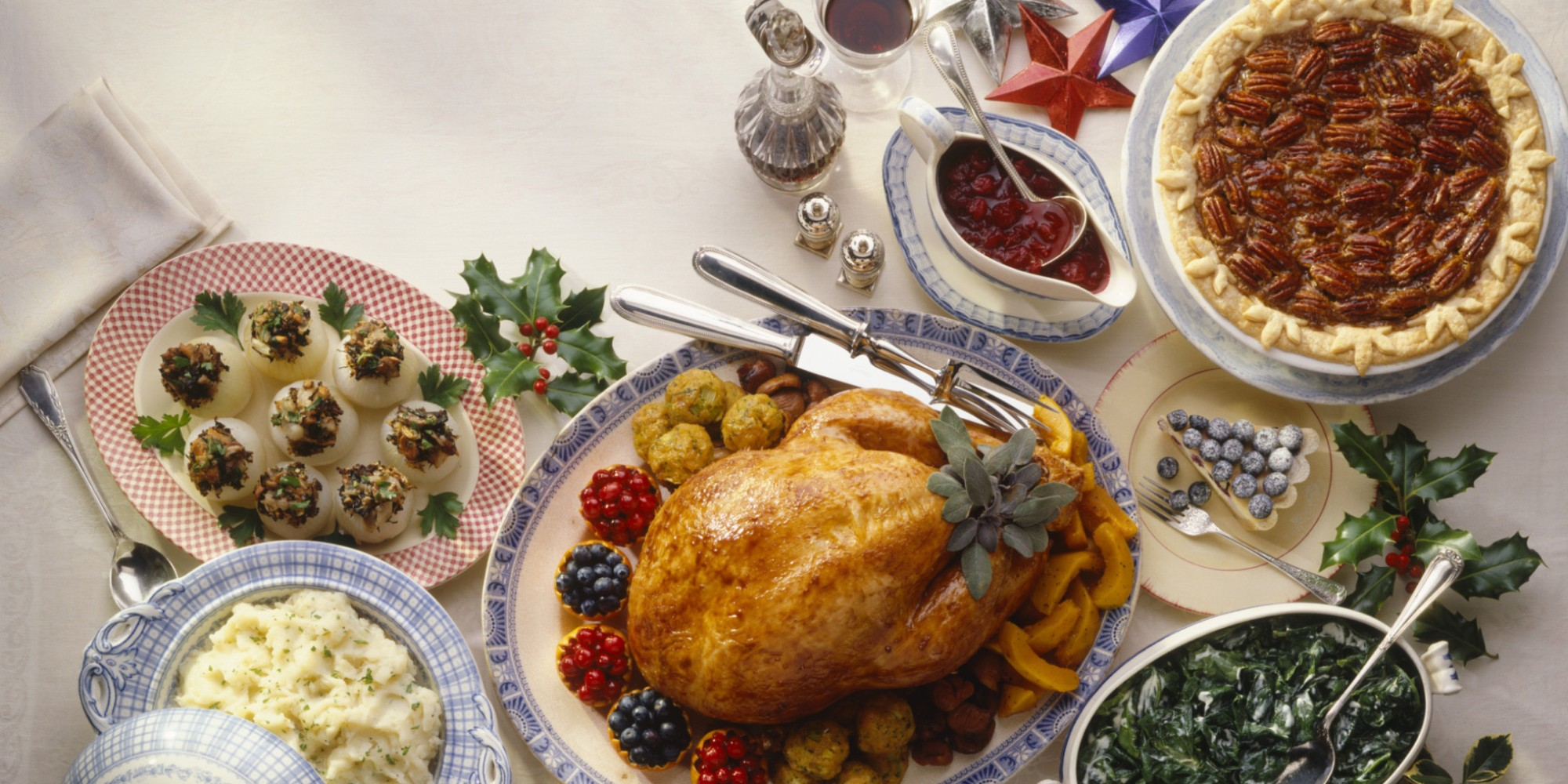 American Christmas Lunch or Thanksgiving.