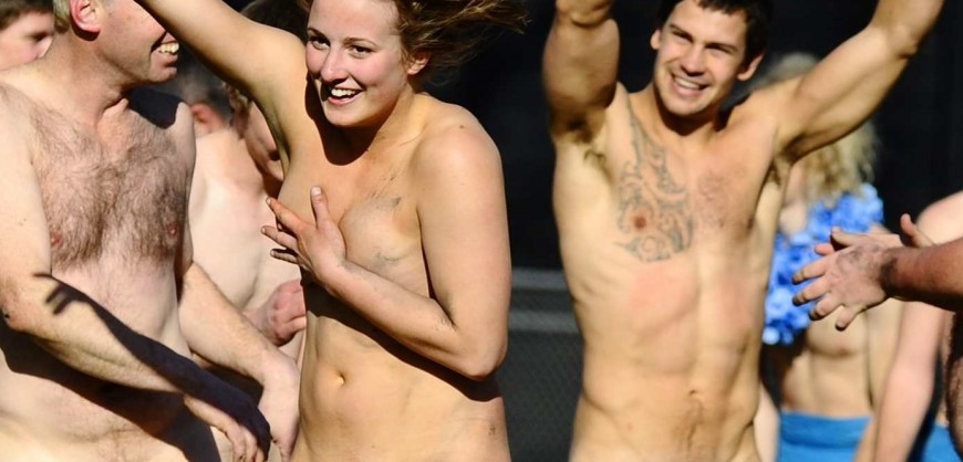 college naked Rugby students