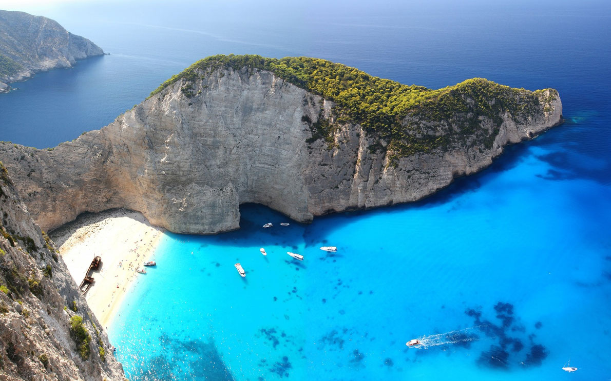 Greek beaches included in the top european beaches for Top us beach vacations
