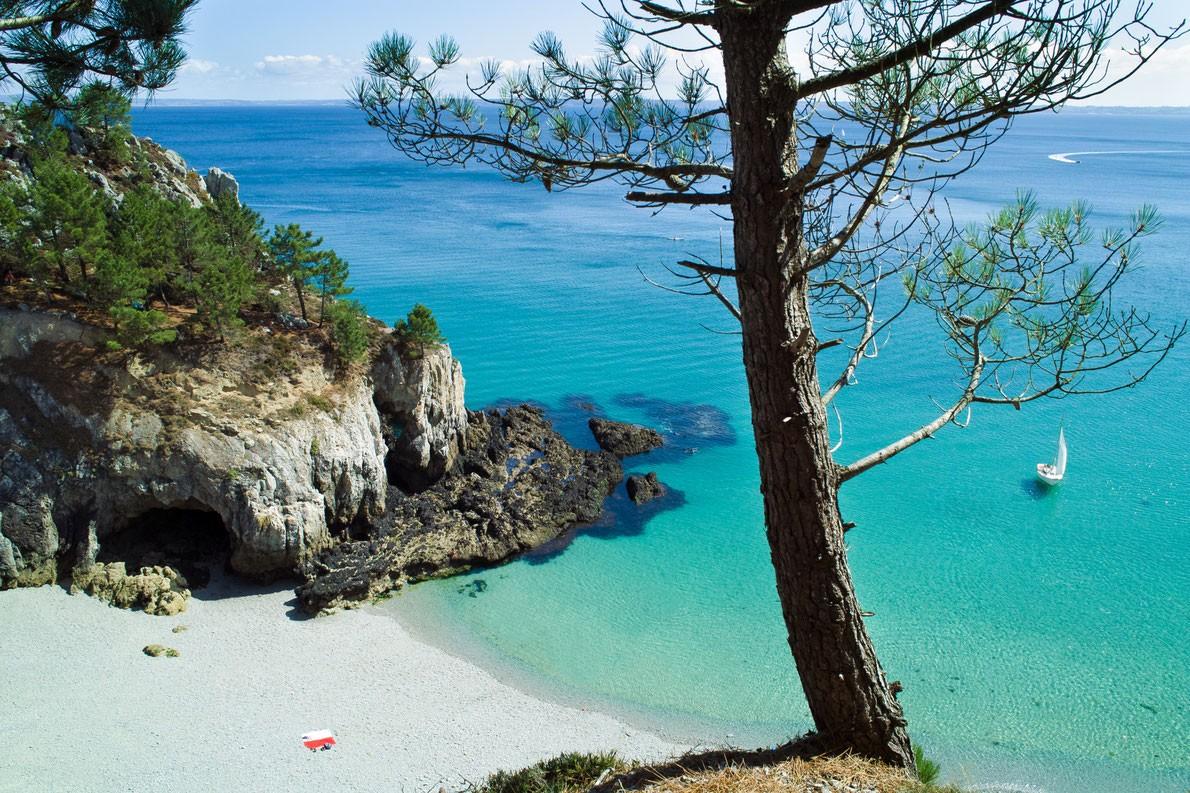 Ile Vierge Beach In Crozon France Best Beaches