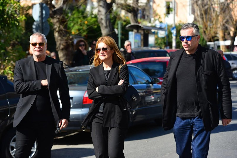 Pantelidis  colleagues and friends pay their tribute (pics ... d5aaea39e6b
