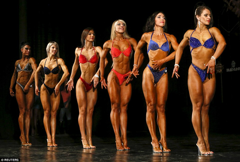 Amateur bodybuilding contests keeping the