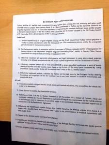 eu turkey refugee draft points