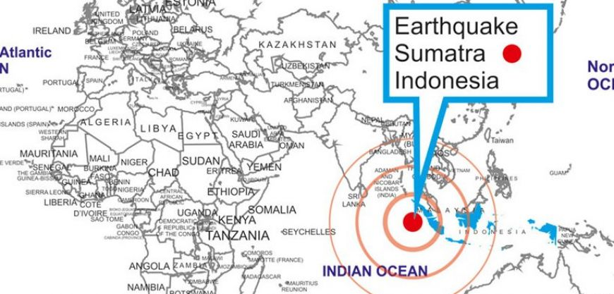 Powerful earthquake recorded in Indonesia | protothemanews.com on map of east bali, map of wimauma, map of weh island, map of new guinea, map of west nusa tenggara, map of sri lanka, map of toba volcano, map of germany, map of thailand, map of borneo, map of lower india, map of indonesia, map of l.a. area, map of mount nyiragongo, map of malaya, map of tanjung pandan, map of sjaelland, map of malaysia, map of java, map of asia,