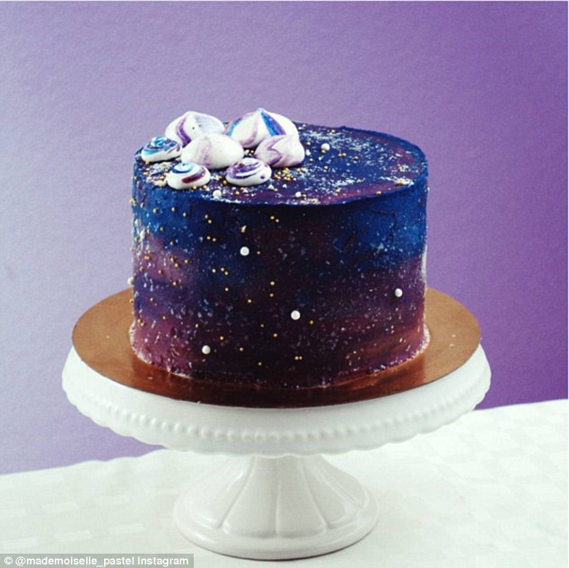 Amazing Outer Space Cake Designs Pics Protothemanews Com