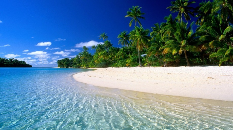Bora Bora Beach, A Best Tourist Spot With White Sand Wallpaper ...